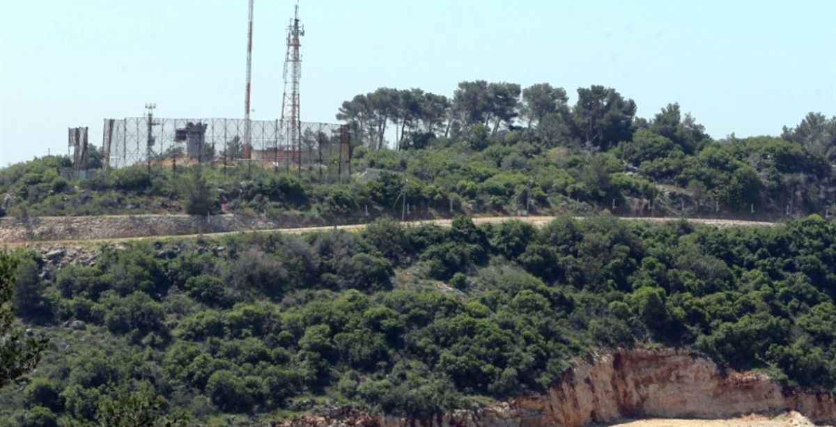 Pipe Storage Facility Damaged in Lebanon After Israeli Artillery Fire Last Night