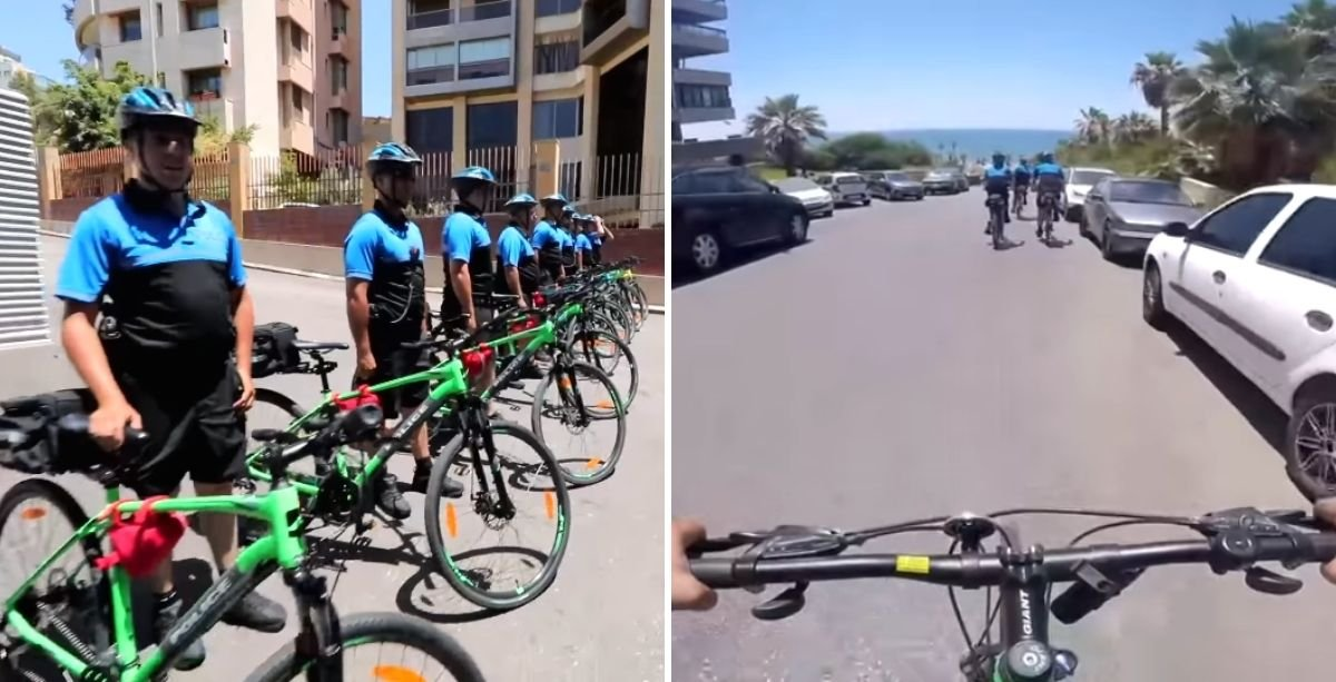 Video Beirut Now Has Daily Police Bicycle Patrols