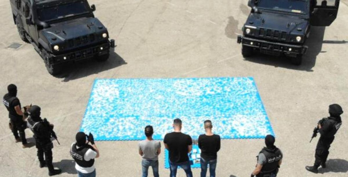 Video Judicial Police Conduct One Of The Biggest Drug Busts In Lebanon Yet