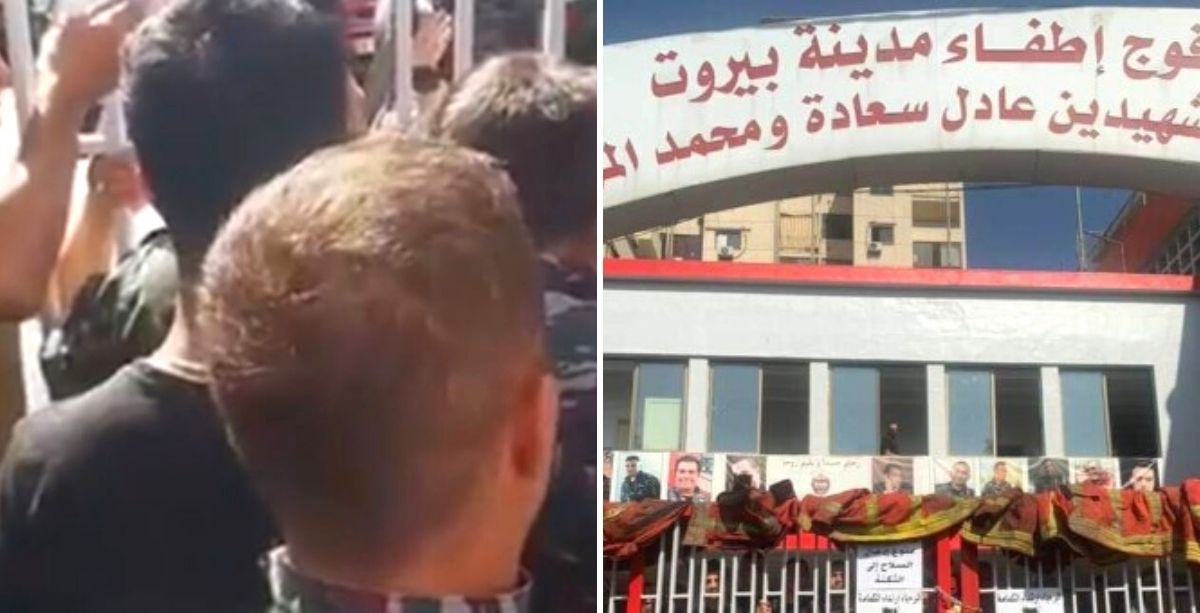 Beirut Firefighters Just Closed Center Over Lack Of Fuel & Healthcare Coverage