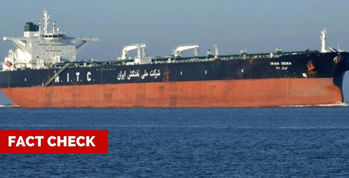 Fact Check: Did Iranian Oil Tankers Just Arrive In Lebanon?