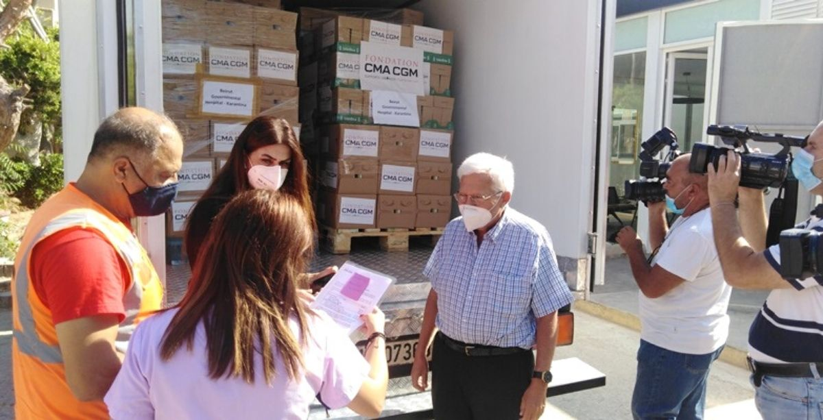 French Foundation Ships 7 Tonnes Of Baby Food To Lebanon