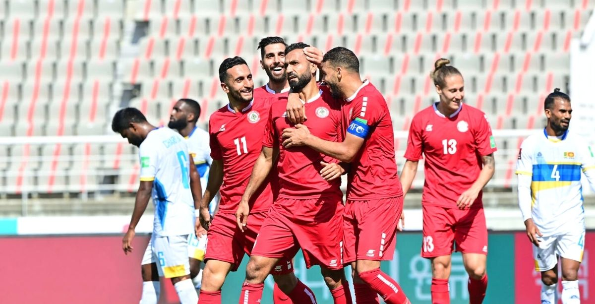 Lebanon Just Topped Group H In The World Cup Qualifiers