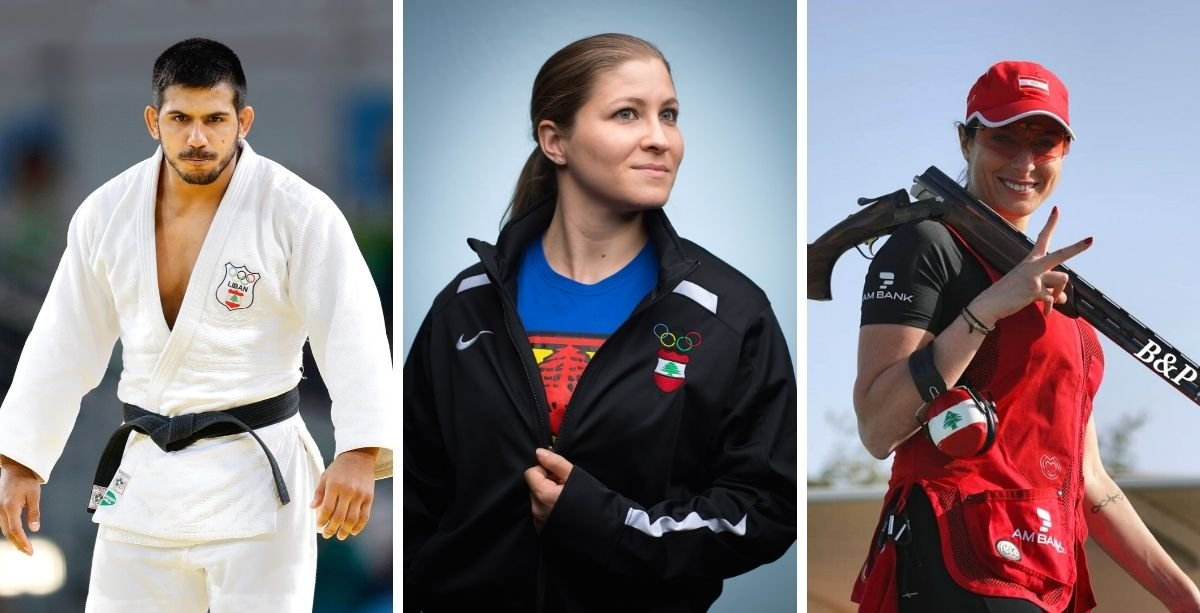 Lebanon will be represented by three athletes in the upcoming Tokyo Summer Olympics this year.