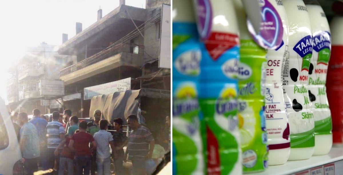 People In Lebanon Just Hijacked A Truck Transporting Milk