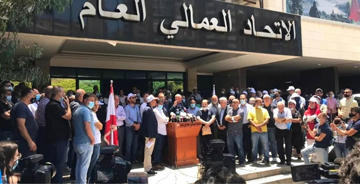 Workers & Institutions Across Lebanon Are On Strike