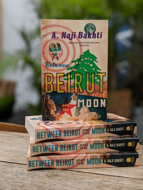 Between Beirut and the Moon, the acclaimed debut novel of Lebanese novelist Naji Bakhti, has been shortlisted for the 2021 Bollinger Everyman Wodehouse Prize.
