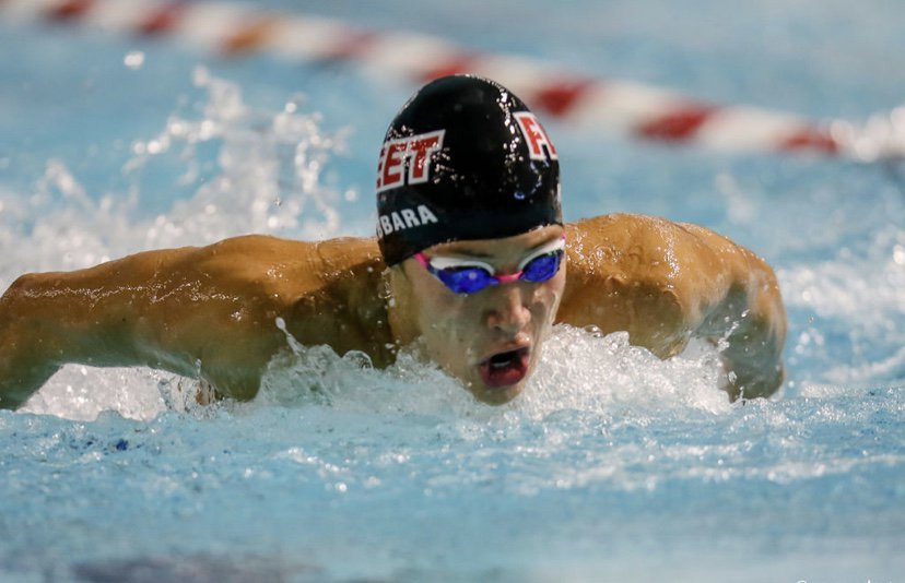 Record-holding swimmer Munzer Kabbara has been on the Lebanese national swimming team since the age of 14.