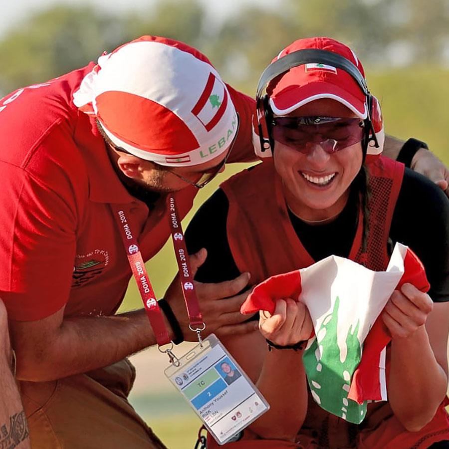 Ray Bassil will be representing Lebanon in Olympic trapshooting for the third time in her career this year.
