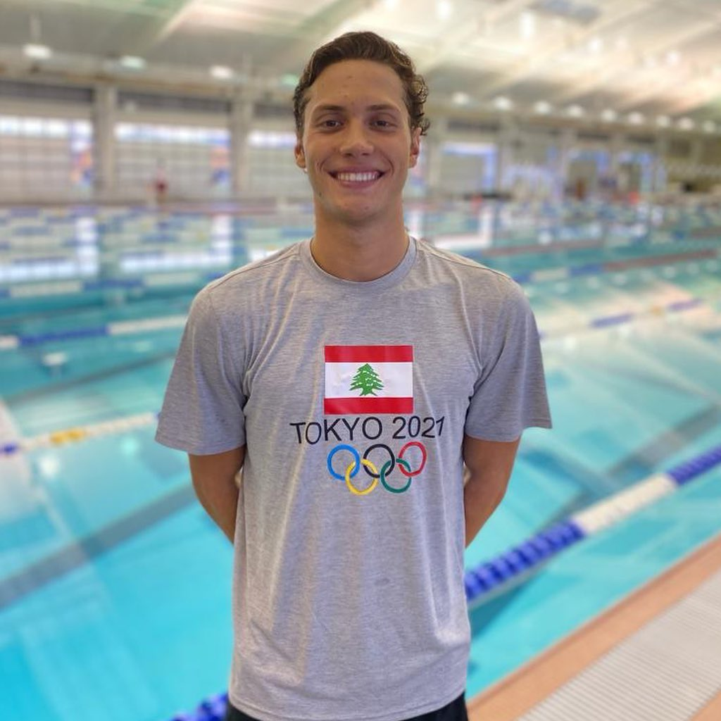 Swimmer Munzer Kabbara will compete in Heat 1 of the Men's 200m individual medley on Wednesday, July 28 at 1:50 PM.