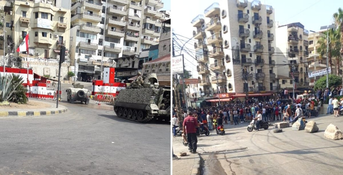 Intense Clashes In North Lebanon Between The Army And Protesters, Dozens Reported Injured *Tap the link in @The961 bio for the full story! #The961 #Lebanon