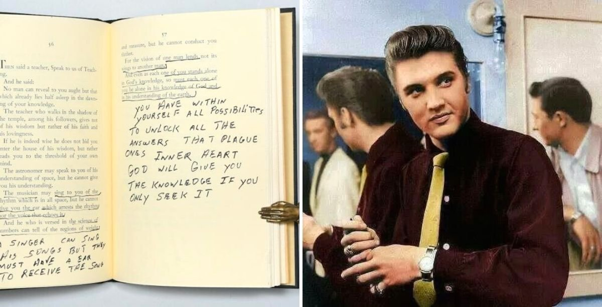 Elvis Presley's Copy Of Gibran Khalil Gibran's The Prophet Is Up For Sale For Almost $30,000 *Tap the link in @The961 bio for the full story! #The961 #Lebanon