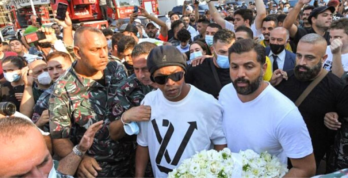 Media People Attacked While Covering Ronaldinho's Beirut Fire Brigade Visit - Here's The Full Story *Tap the link in @The961 bio for the full story! #The961 #Lebanon