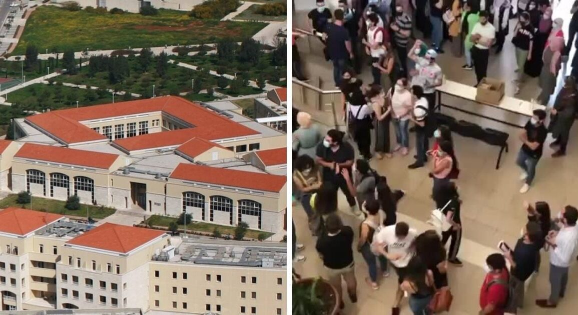 Lebanese University Med Students Boycott Exams After Student Banned Over Social Media Post *Tap the link in @The961 bio for the full story! #The961 #Lebanon