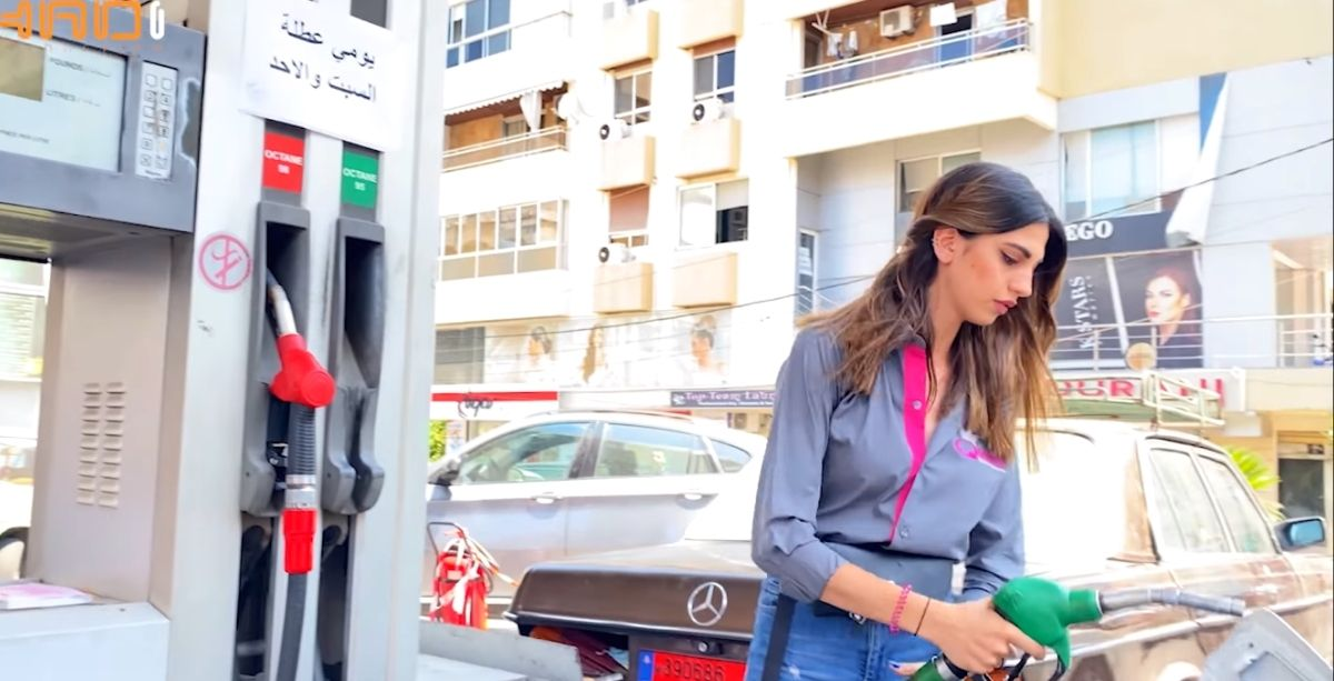 Meet The 22-Year-Old Lady Breaking Stereotypes By Working At A Gas Station In Lebanon