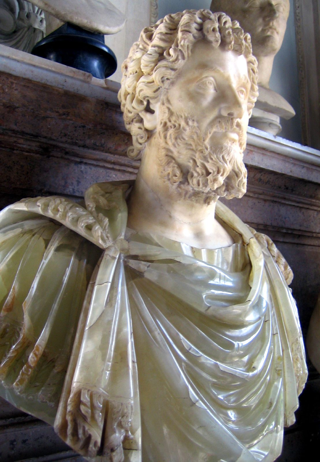 Born in the Phoenician Punic city of Leptis Magna (modern-day Libya) in 145, Septimius Severus is regarded as the first African ruler of Rome.