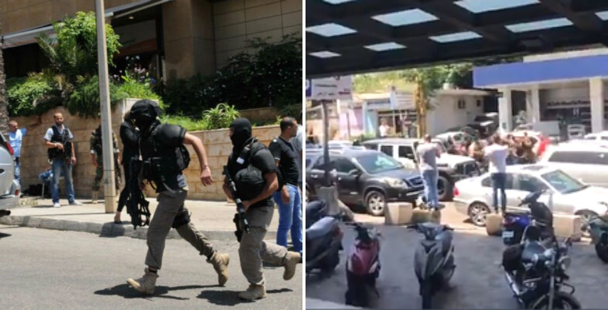State Security Personnel Fight Each Other At Gas Station (Video)