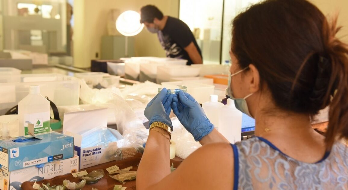 The British Museum Is Restoring 8 Ancient Artifacts Destroyed In The Beirut Blast *Tap the link in @The961 bio for the full story! #The961 #Lebanon