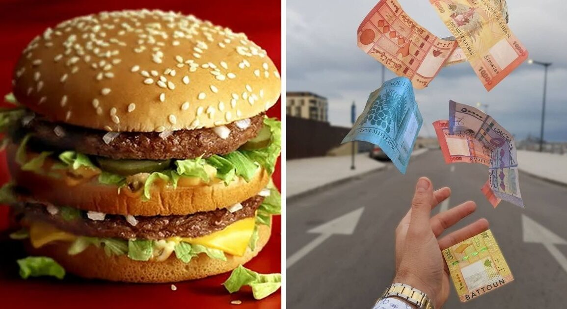 This Is What The Economist's New Big Mac Index Says About Lebanon's Currency *Tap the link in @The961 bio for the full story! #The961 #Lebanon