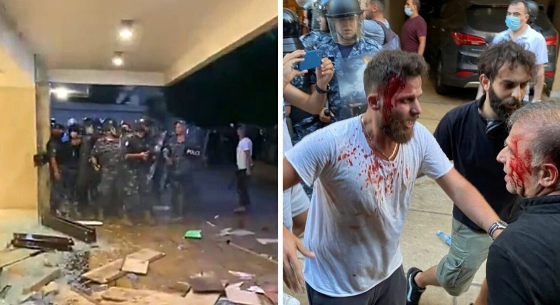 Violent Scuffles In Beirut Between Protesters And ISF, Dozens Injured On Both Sides *Tap the link in @The961 bio for the full story! #The961 #Lebanon