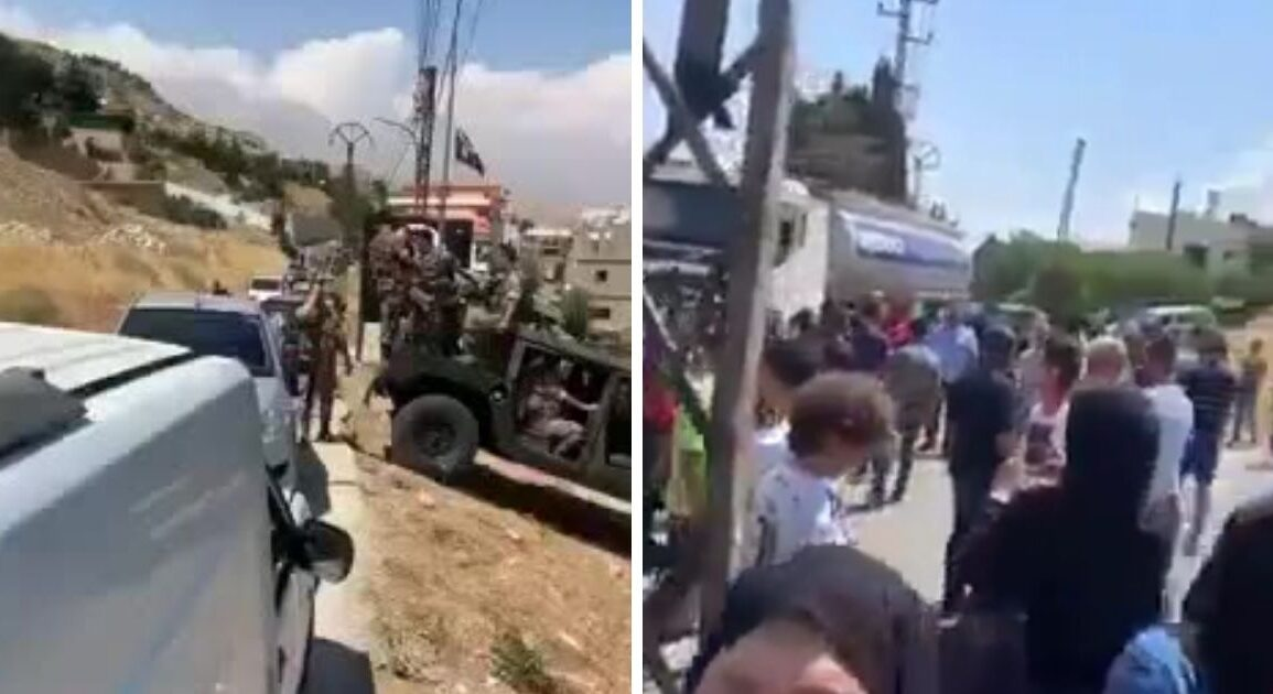 People In Lebanon Just Seized A Diesel Tanker On Its Way To An Electricity Company (Video) *Tap the link in @The961 bio for the full story! #The961 #Lebanon