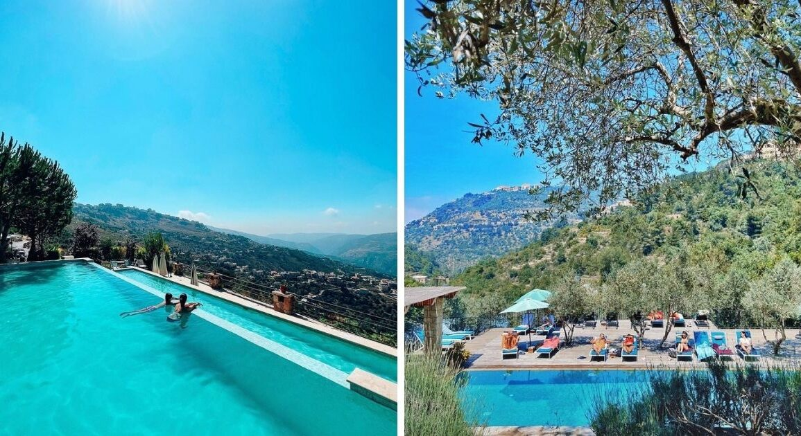 12 Mountain Pools Where You Can Float Away This Summer In Lebanon *Tap the link in @The961 bio for the full story! #The961 #Lebanon