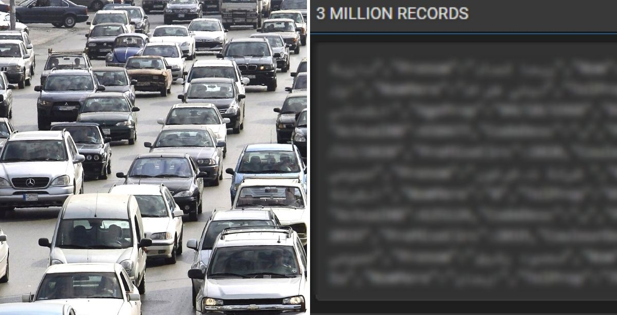 Database Of 3 Million Lebanese Car Owners Is Being Sold Online