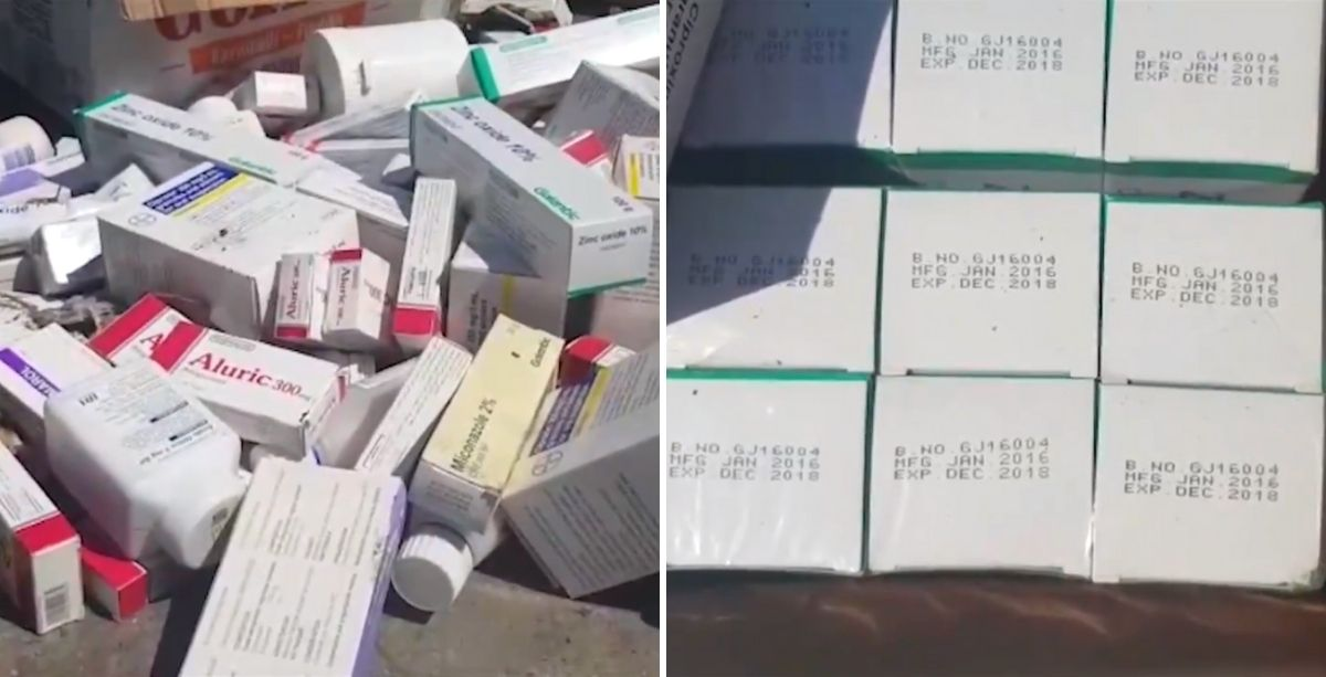 Expired Drugs Were Just Found In Dumpsters In Lebanon (Video)
