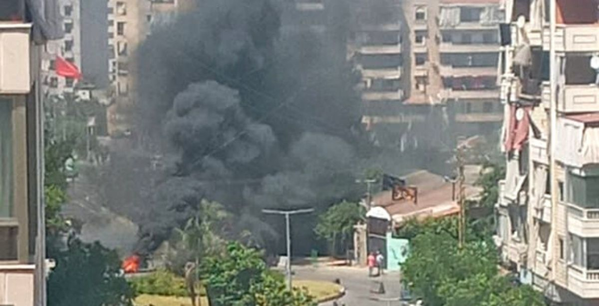 Gunmen Just Opened Fire At A Gas Station In Lebanon