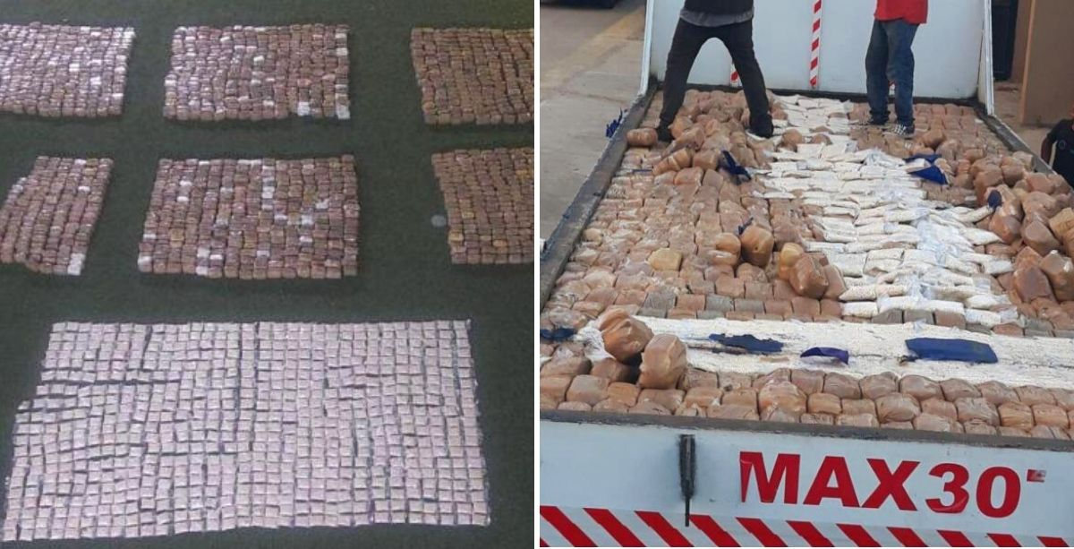 ISF Just Foiled Smuggling Of Over 2 Million Captagon Pills From Lebanon