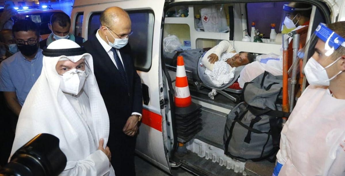 Kuwait Takes In 6 Akkar Explosion Victims for Treatment