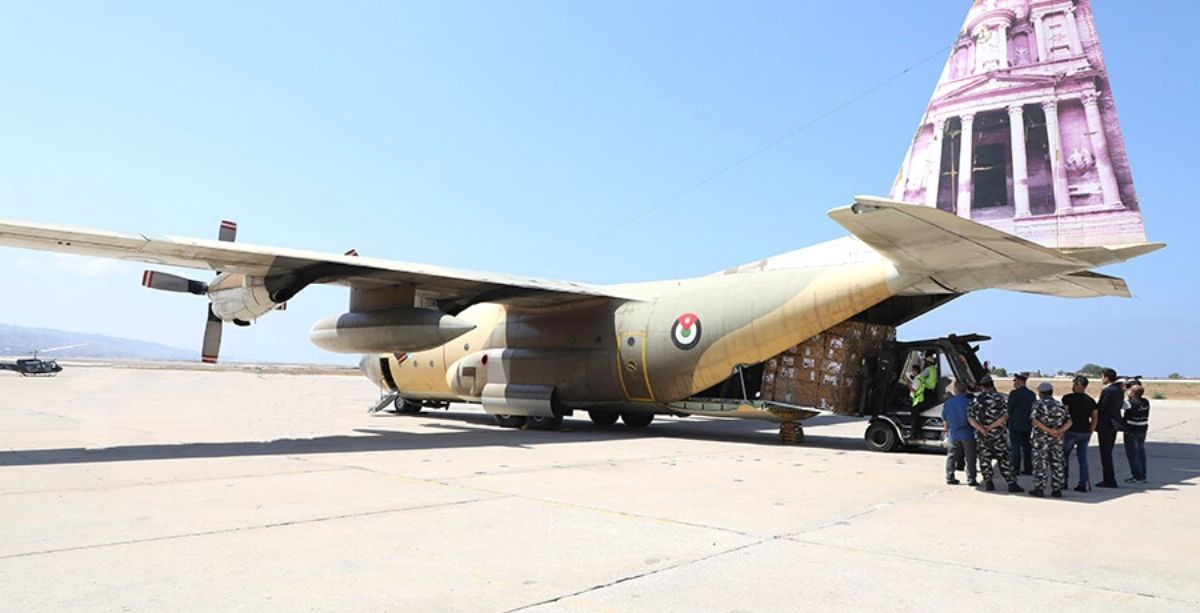 Lebanese Army Just Received 14 Tonnes Of Aid From Jordan
