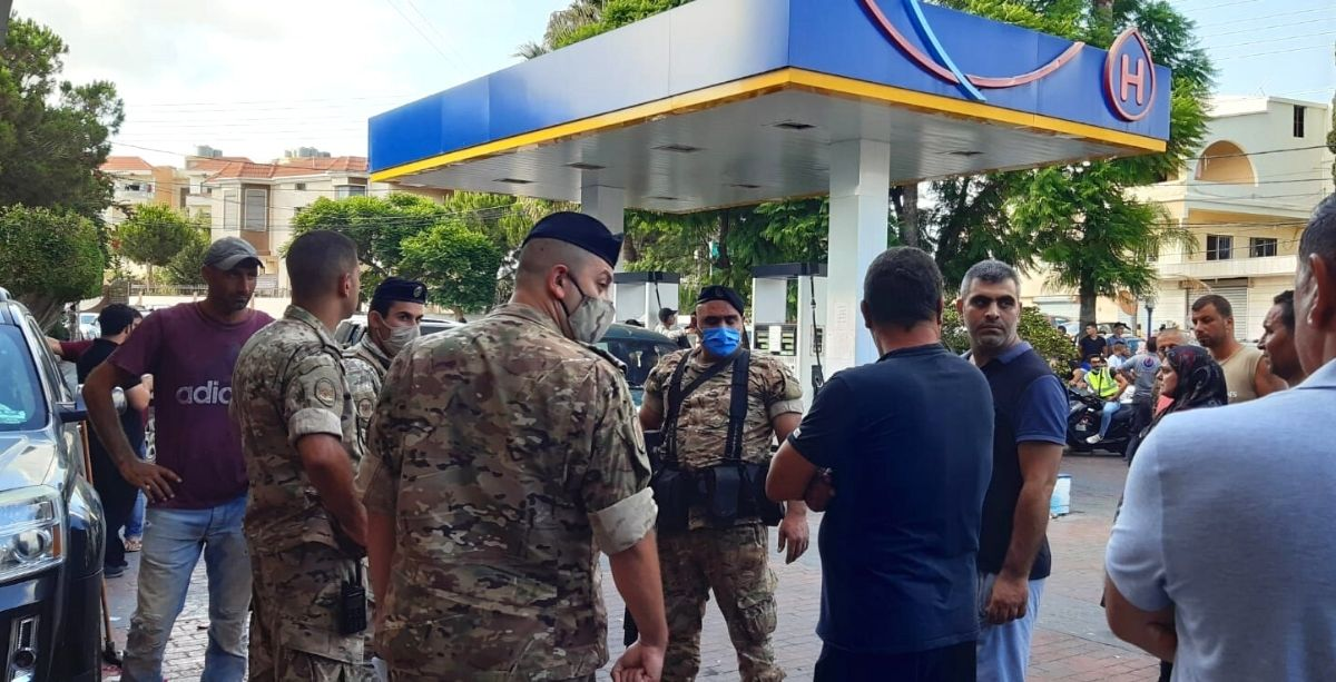 Lebanese Army Seized 6 Million+ Liters Of Fuel In 3 Days