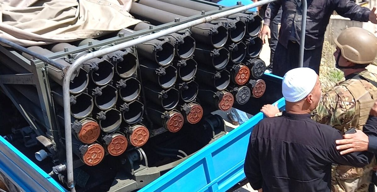 Lebanese Residents Just Seized A Truck Launching Rockets At Israel & Gave It To The Army