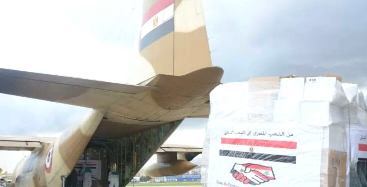 Lebanon Receives 1.5 Tonnes Of Aid From Egypt In Response To Akkar Explosion