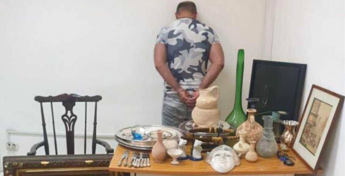Man Arrested For Stealing $100,000 Worth Of Antiques In Lebanon