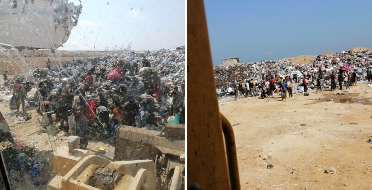 Scavengers & Thefts Interrupt Jdeideh Landfill Operations In Lebanon