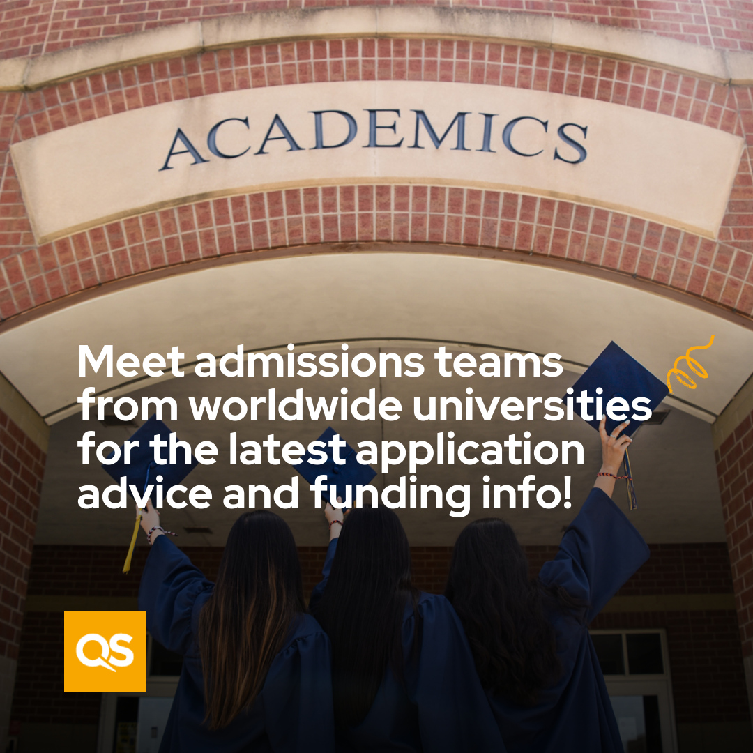 The personal meetings that you can have with admissions directors at the event are aimed at helping you select the perfect university and program for your career path.