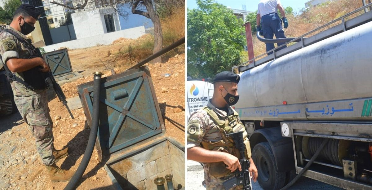 Tens Of Thousands Of Liters Of Fuel Were Just Seized In Lebanon