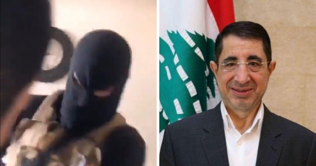 A Guy Who Protested Against MP Hussein Hajj Hassan Last Night In Lebanon Has Been Arrested