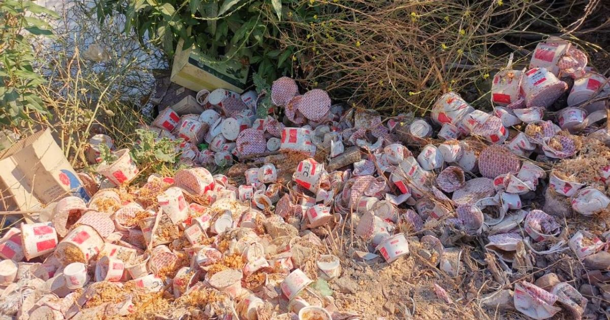KFC Caught Allegedly Dumping Waste In The Litani River *Tap the link in @The961 bio for the full story! #The961 #Lebanon
