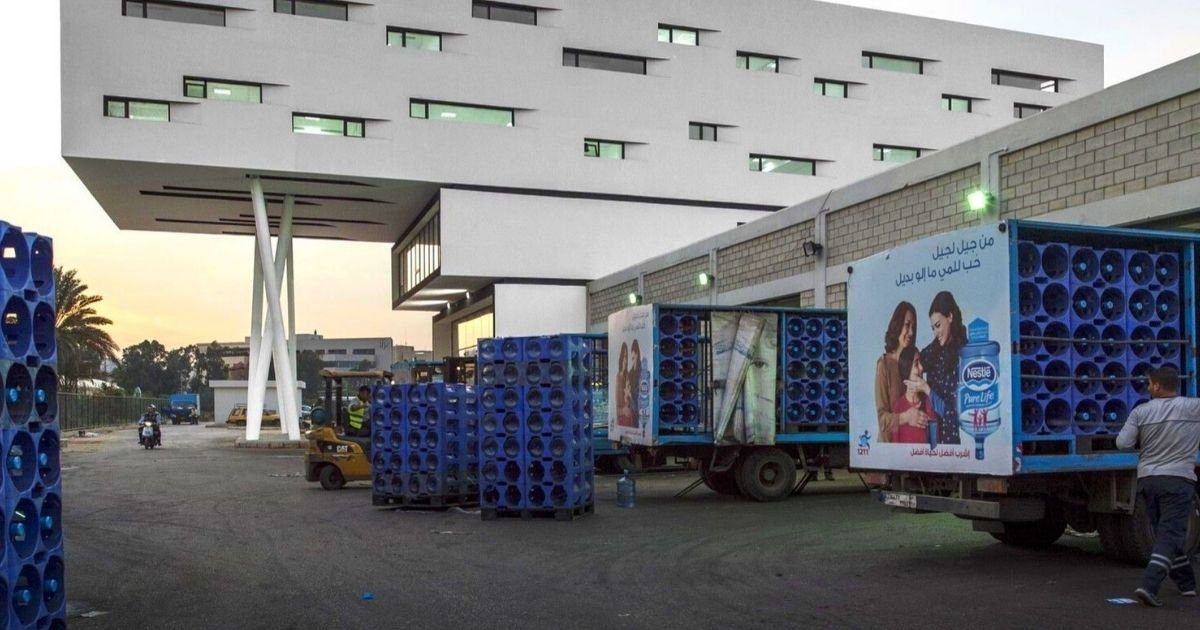 Supermarkets All Over Lebanon Are Witnessing A Shortage Of Bottled Water