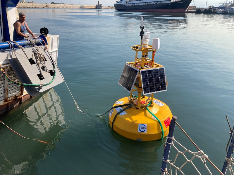 Lebanon's National Council for Scientific Research (CNRS) announced on Wednesday that its experts had deployed the first smart buoy in Lebanese waters.
