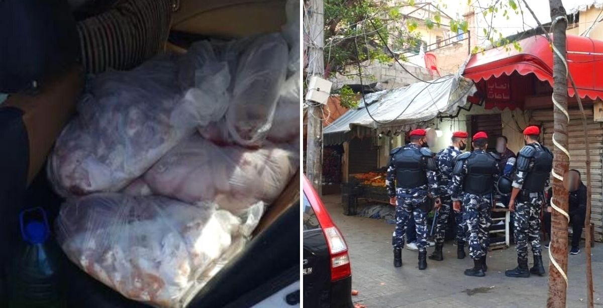 A Man Was Just Caught Transporting 150 Kg Of Poultry Using His Car In Lebanon