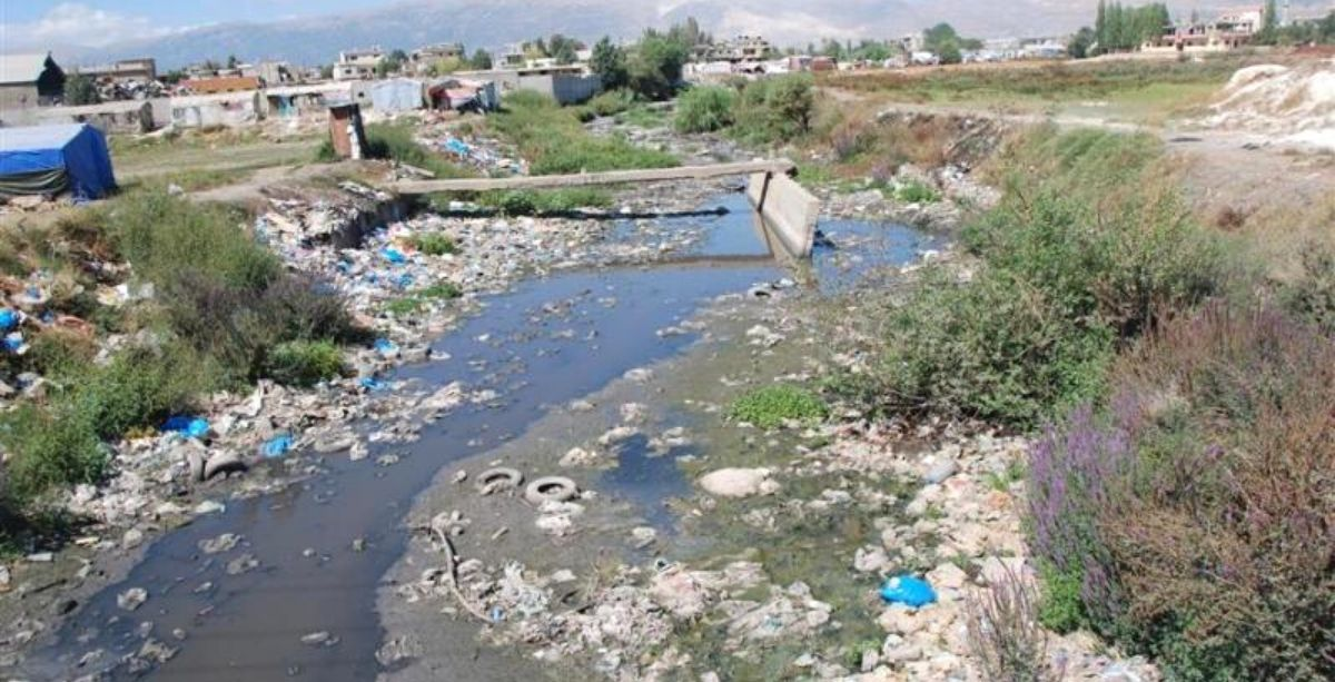 Farmers In Lebanon Were Just Caught Watering Crops With Contaminated River Water