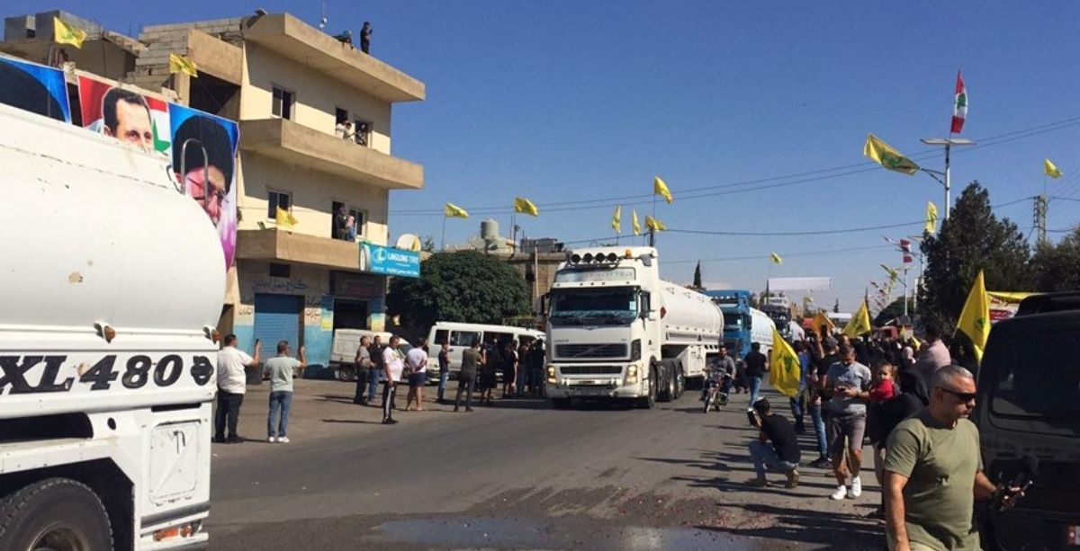 Iranian Fuel Just Arrived In Lebanon Via Syria