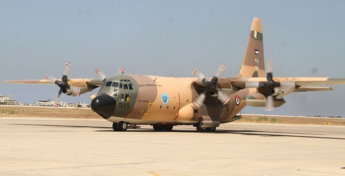 Lebanese Army Just Received A New Aid Shipment From Jordan