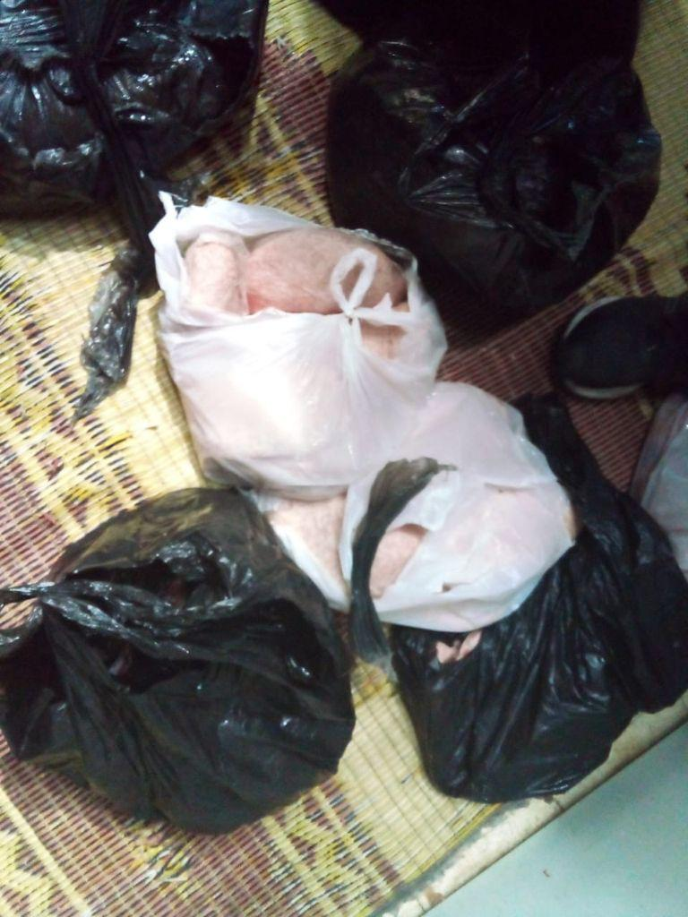 A butcher shop in Lebanon was caught selling a large quantity of bad meat on Saturday.