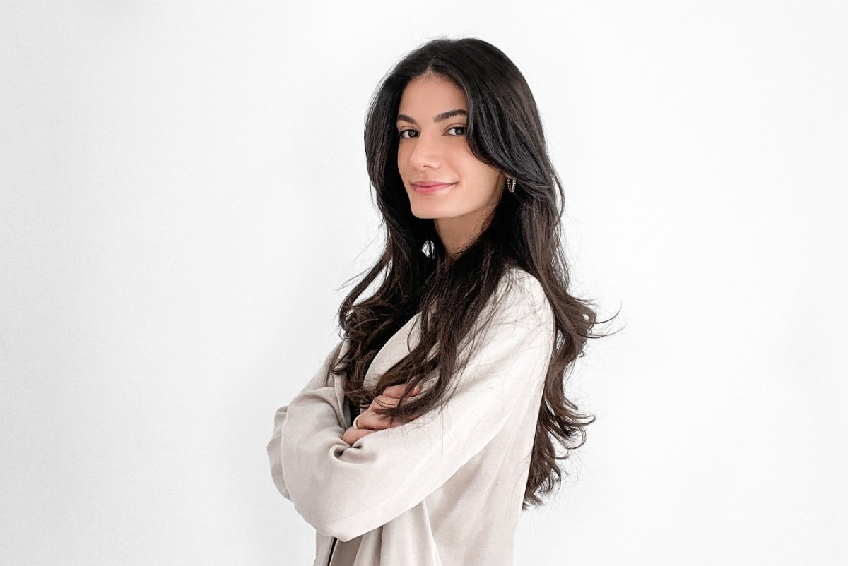 Maria Sobh, 24, is a Lebanese-Canadian co-founder of The Concept, an award-winning product development and design company that creates sustainable innovative solutions for clients.